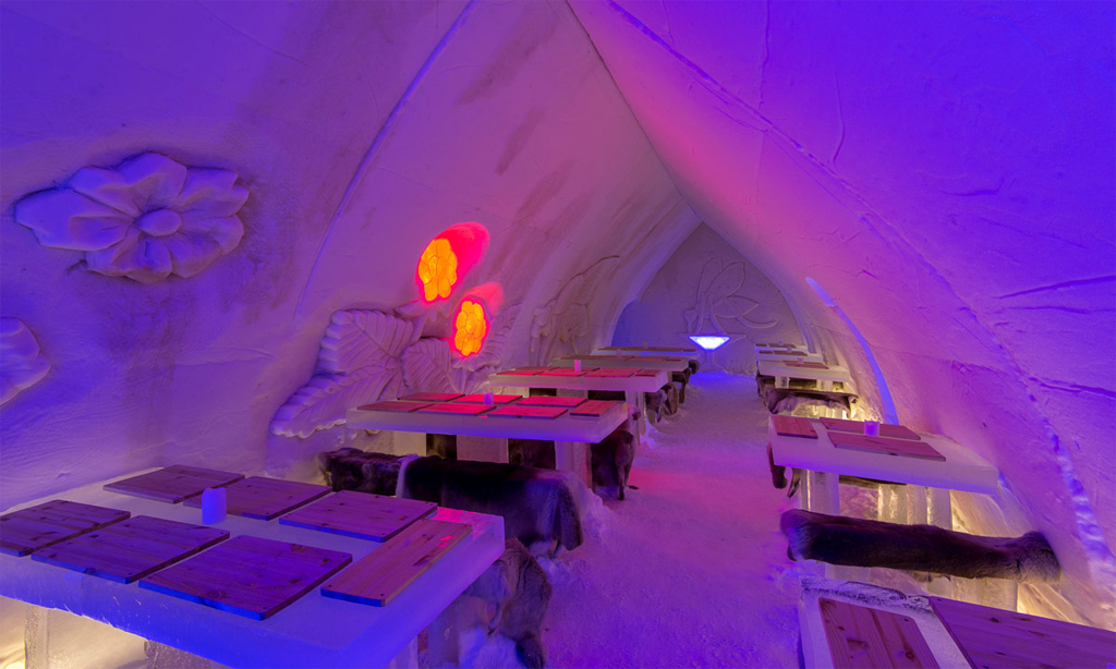 Arctic SnowHotel and Glass Igloos, Finland