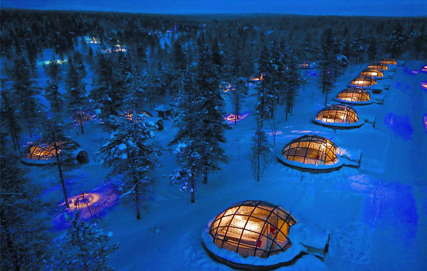 Kakslauttanen Igloo West Village, Lapland, Finland