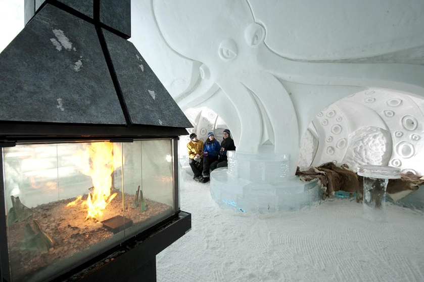 top 10 magnificent ice hotels for a winter fairy. Black Bedroom Furniture Sets. Home Design Ideas