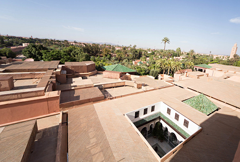 La Mamounia view from above