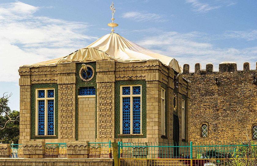 Chapel of the Ark of the Covenant, Axum, Ethiopia