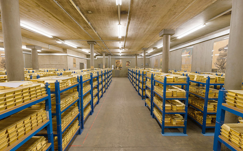 Bank of England Vaults, London